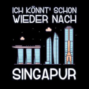 Ich könnt schon wieder nach Singapur