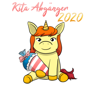 Kita Abgänger 2020 Einhorn Mädchen