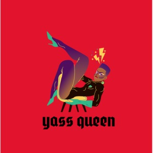Mascarilla Drag Yass Queen | LGTBIQ
