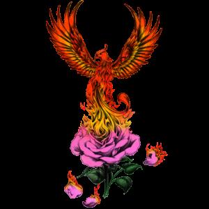 Phoenix - Feuer Phoenix - Brennender Phoenix