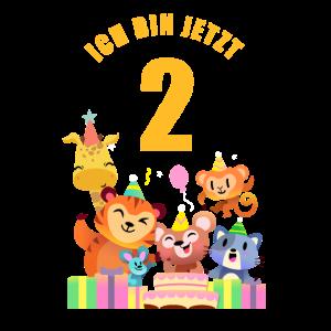 Kinder Zoo Party 2. Geburtstag