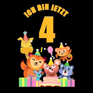 Kinder Zoo Party 4. Geburtstag