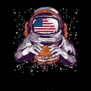 Cooler Kosmos Amerikanischer Astronaut