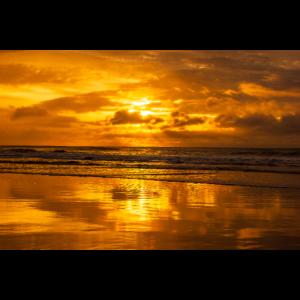 Sonnenaufgang über dem Meer - Great Ocean Road, Au