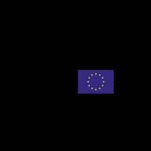 Herzschlag mit Europa Flagge - EKG