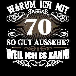 70. Geburtstag Mann Frau 70 Jahre Geschenk