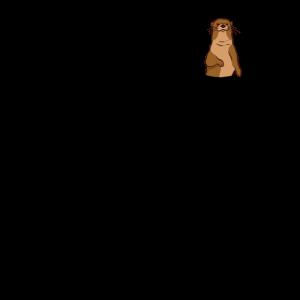 Otter Tasche Seeotter Wiesel Brusttasche