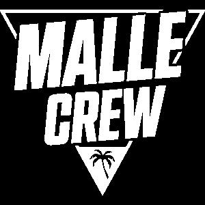 malle crew malle crew dreieck palme