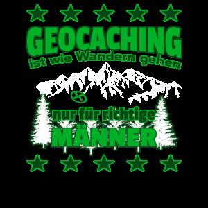 Wie Wandern nur fuer Maenner Geocaching 1