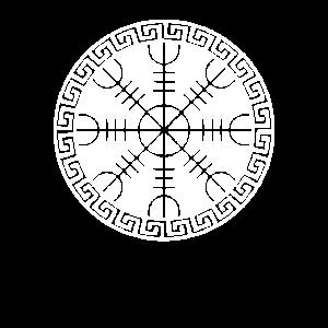 Wikinger | Schutz Rune Algiz | Odin | Nordisch