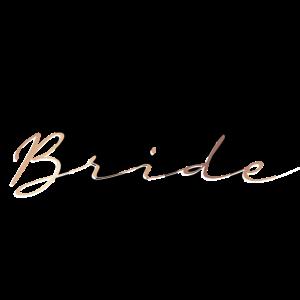 Team Bride rosegold