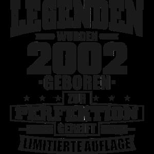 Jahrgang 2002 Geburtstag 18 Jahre Geschenk