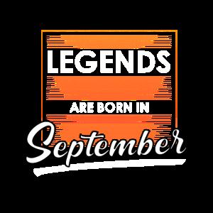Geboren in September