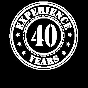 40 jahre Erfahrung