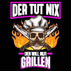 Grillmeister Grillen Sommer BBQ Grill