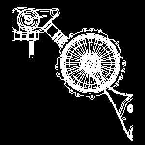 Abstrakt Maschine