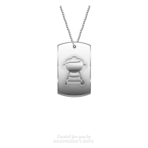 Grillen T Shirt Grill Sergeant Dog Tag
