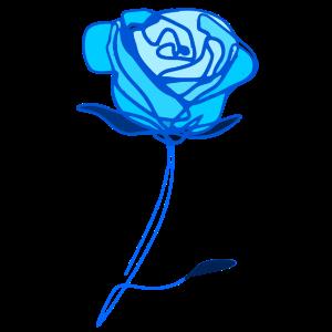 �❤️✦ ° Romantische Rose-Timeless Rose Line Art