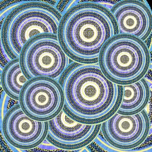 Kreise, Spiralen, Muster