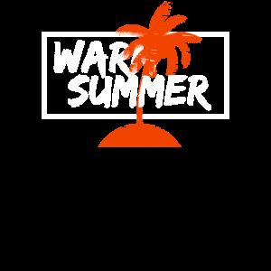 warmer Sommer