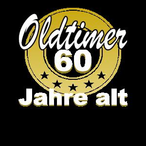 Oldtimer Geburtstag 60 Jahre alt Geschenk