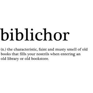 biblichor - duften af gamle bøger