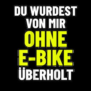 Fahrrad mit Muskelkraft und ohne Motor TShirt