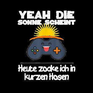 Gamer Sonne Lustiges Zocker Witziges Geschenk Spie