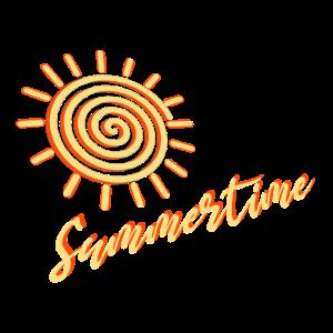 Summertime, Sonne, Spirale