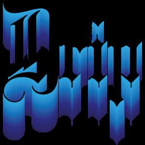 Blue Drip Typo