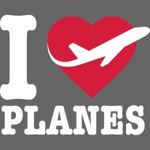 Rakastan lentokoneita - valkoisia