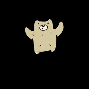 Baby Bear Poster - süßes Bärchen - Kinderzimmer