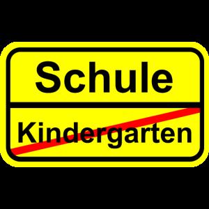 Kindergarten Schule Einschulung 1. Klasse Schild