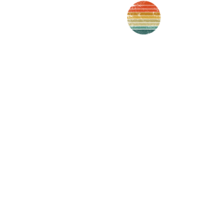 Geometrische Berge und Bär Wald