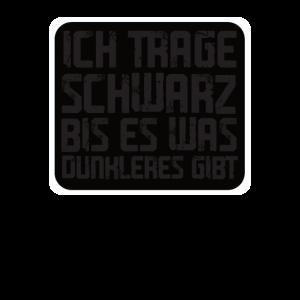 Trage Schwarz