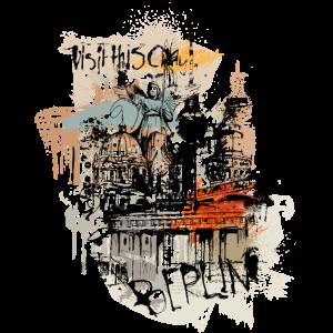 Berlin Art Collage