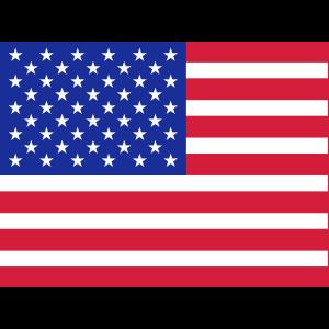 Maske USA Amerika Stars and Stripes