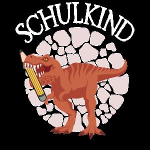 Kinder Einschulung - Dino T-Rex Stift Schulkind 20