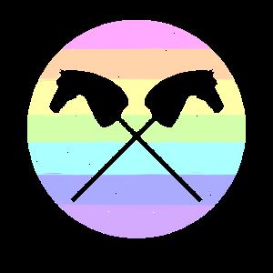 Hobby Horse, Hobby Horsing Steckenpferd Reiten