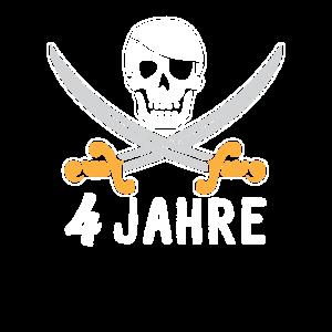 Piraten s zum 4. Geburtstag