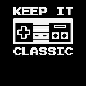 Keep It Classic Controller Retro Gamer Zocker