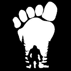 Big Foot Wald Kreatur Monster