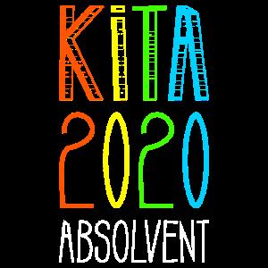 Kita 2020 Absolvent Kindergarten Geschenk