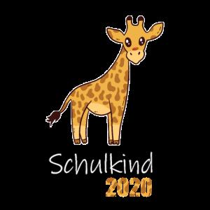 Schulkind Giraffe Schule 2020