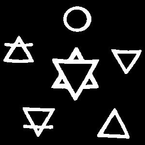 5 Elemente der Natur Tattoo Wicca Geschenkidee