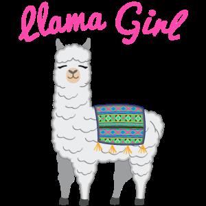Lama Alpaka Mädchen Geschenk Frauen Kinder