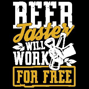Bierverkoster arbeite kostenlos | lustiges Trinken