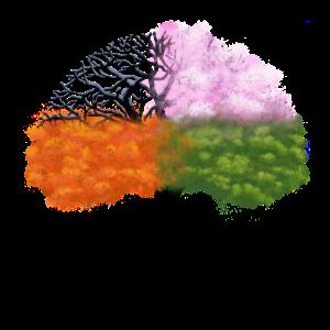 Baum des Lebens Jahreszeiten - Tree of Life Season
