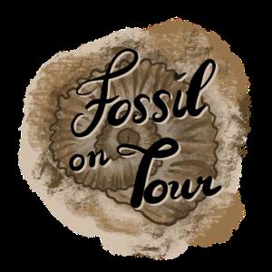T-Shirt Motiv Fossil on tour handletteringAirbrush