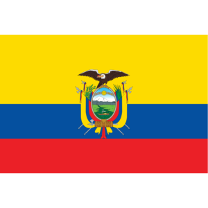 Äquator Flagge